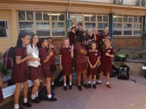 オーストラリアの元気な高校生